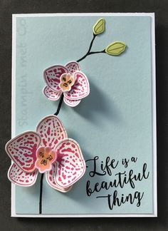 Climbing Orchid Stampin' Up!