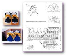 Solo esquemas y diseños de crochet: abril 2009