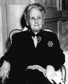 Happy Birthday Maria Montessori, August 31, 1870
