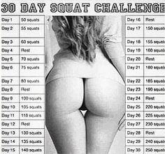 Squat challenge #fitness