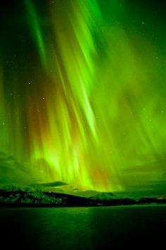 Aurora Borealis - Bennett Lake, Carcross, Yukon, Canada