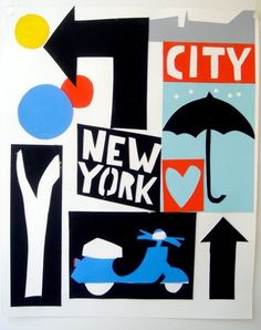 l love #NY by Tom Slaughter