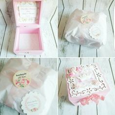 Custom made princess box at my Etsy beautifully wrapped ...Perfect for a gift.