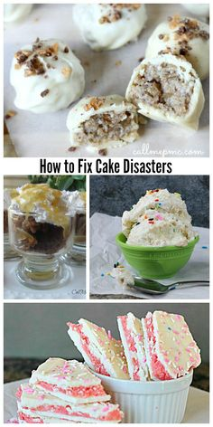 What to do when you cake fails | cake wrecks