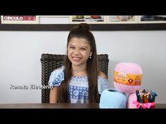 Aula de Crochê para iniciantes - Argola Inicial - Como segurar na agulha - YouTube