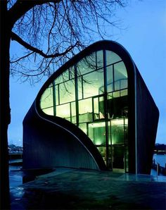 That is the Architecture Centre #Amsterdam designed by Rene van Zuuk. Does such an iconic building inspire you?
