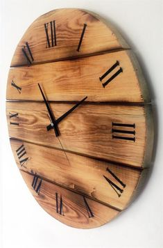 20 Brilliant DIY Pallet Furniture Design Ideas to Inspire Yo .- 20 Brilliant DIY Pallet Furniture Design Ideas to Inspire You – diy pallet creations Designer Yasin YUCEL design made of wood burning wall clock - Wall Clock Wooden, Diy Wood Wall, Wood Clocks, Wood Wall Design, Wall Clock Design, Diy Clock, Clock Decor, Woodworking Furniture, Woodworking Crafts