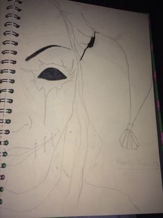 Homework - CIRCUS  *The Jester* will be done in the style of (Marc Allante's) a drip ink artist