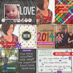 layout by debra featuring [every day] january collection by lauren grier at Sweet Shoppe Designs