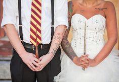 Já imaginou um casamento de conto de fadas? Agora imagina um casamento mágico inspirado em Harry Potter! Então corre pra ver que lindooo!!