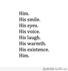 There's just something about him<3