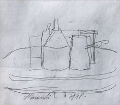 Morandi drawing https://www.pinterest.com/lilycorver/morandi/