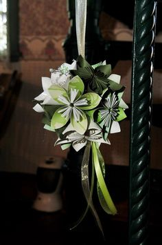 Paper Flower Bouquet  Wedding Package by SwirlyShirley on Etsy, $300.00