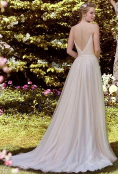 Courtesy of Rebecca Ingram Collection of Maggie Sottero Wedding Dresses; Wedding dress idea.
