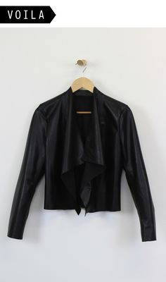 Leather jackets are an absolute staple in the wardrobe but can be quite a daunting task to sew, Fear not! we have found a great pattern for a simple and super slick leather jacket. Pattern // We used the PDF Burda pattern 'Suede Blazer' for this...