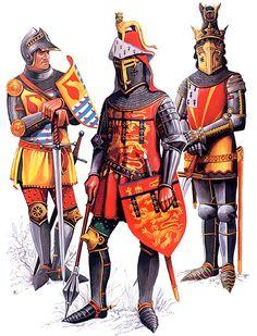 • Laurence Hastings, Earl of Pembroke  • Henry Plantagenet, Earl of Derby, Duke of Lancaster, KG  • Ralf, Lord Basset of Drayton, KG