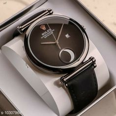 Checkout this latest Analog Watches Product Name: *Oval Crystal New Model Trending Watch For Men* Strap Material: Leather Dial Design: Solid Dial Shape: Round Display Type: Analog Dual Time: No Gps: No Light: No Multipack: 1 Sizes:  Free Size Country of Origin: India Easy Returns Available In Case Of Any Issue   Catalog Rating: ★4 (788)  Catalog Name: Trendy Men Watches CatalogID_1871541 C65-SC1232 Code: 377-10307968-8802