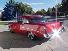 56 Chevy...Re-Pin...Brought to you by Agents of #CarInsurance at #HouseofinsuranceEugene