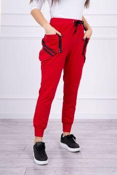 Pantaloni dama rosu - 92 Lei -    Compozitie:  90% bumbac ,  10% spandex  -   Comanda acum!  #divashopromania #divashop #hainefemei #pantaloni  #fashion #fashionista #fashionable #fashionaddict #styleoftheday #styleblogger #stylish #style #instafashion #lifestyle #loveit #summer #americanstyle #ootd #ootdmagazine #outfit #trendy #trends #womensfashion #streetstyle #streetwear #streetfashion #shopping #outfitoftheday #outfitinspiration #ootdshare #trendalert #boutique #hai Parachute Pants, Sweatpants, Street Style, Adidas, Zip, Ootd, Spandex, Boutique, Outfit