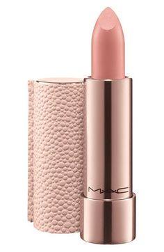 rose gold + texture | Mac 'Making Pretty' lipstick
