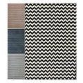 nuLOOM Alexa Chevron Vibe Zebra Rug (7'10 x 10'10)   Overstock.com Shopping - The Best Deals on 7x9 - 10x14 Rugs