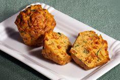 Elmira paleo konyhája: Cukkinis-kolbászos muffin