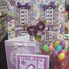 """*SMS GIRLS """"Simply"""" Samples from the SIMPLY REFINED March I Want It All ENCHANTED Release ~ Simply Beautiful aren't they! Available in store and online #Scrapbookingmadesimple"""