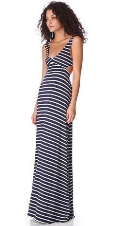Rachel Pally Stripe Cutout Dress | SHOPBOP SAVE UP TO 25% Use Code:GOBIG15