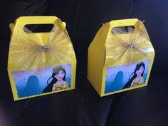Disney Princess Mulan Birthday favor Box by FantastikCreations