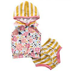 $5.02 (Buy here: https://alitems.com/g/1e8d114494ebda23ff8b16525dc3e8/?i=5&ulp=https%3A%2F%2Fwww.aliexpress.com%2Fitem%2FSummer-Newborn-Baby-Girl-Outfit-2017-Infant-Bebes-Sleeveless-Floral-Vest-Hooded-Tops-Short-Bottom-2PCS%2F32796143786.html ) Summer Newborn Baby Girl Outfit 2017 Infant Bebes Sleeveless Floral Vest Hooded Tops +Short Bottom 2PCS Bebek Giyim Clothing Set for just $5.02