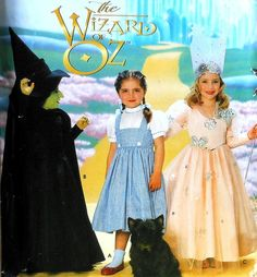 Wizard of Oz Costume Sewing Pattern