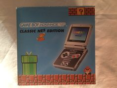 Game Boy Advance SP Classic NES Edition box.