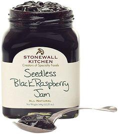 Stonewall Kitchen Seedless Blackberry Jam, 12 Ounce