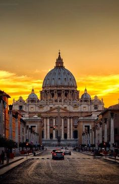 St. Peter Basilica, Vatican City, in Rome, Italy Been in love ever since I had read Angels And Demons