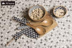 Ανακαλύψτε μία μεγάλη γκάμα σε είδη σερβιρίσματος και συνδυάστε το στιλ με τη λειτουργικότητα στο τραπέζι σας.  #Athome #feeltheliving #kitchen Measuring Spoons, Spoon Rest, Tableware, Dinnerware, Tablewares, Dishes, Place Settings
