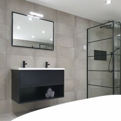 How to Finish Your Basement and Basement Remodeling – House Remodel HQ Armoire, Black White Bathrooms, Beautiful Mirrors, Bedroom Storage, Bedroom Organization, Basement Remodeling, Home Decor Inspiration, Decor Ideas, My Room