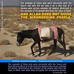 Quran 62-05.