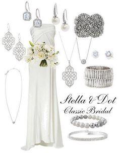 A Brides perfect accessories!