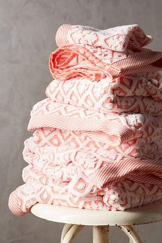 Anthropologie EU Tarren Towel Collection.