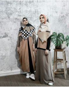 Ideas Clothes For Women Chic Simple Hijab Style Dress, Casual Hijab Outfit, Hijab Chic, Dress Up, Abaya Fashion, Ootd Fashion, Modest Fashion, Fashion Dresses, Girl Fashion