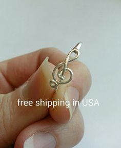 sterling silver starting ring FREE SHIPPING treble by FoxCFashion just $9.00