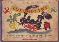 J. M. Szancer, cover illustration for Lokomotywa by Julian Tuwim (Poland, 1954)