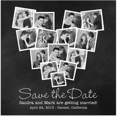 Idée pour remerciement, polaroid du mariage ♥