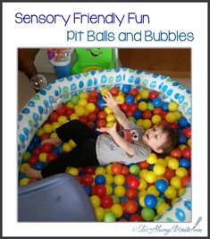 Sensory Friendly Fun: Pit Balls and Bubbles Sensory Activities, Bubbles, Kids Rugs, Posts, Blog, Fun, Messages, Kid Friendly Rugs, Vw Beetles