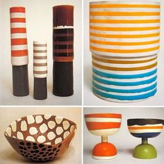 We're clearly big fans and some might say pioneers of the 1970/80's Memphis revival, but did you know that Ettore Sottsass was making incredible ceramics as far back as the 1950's? His work was much more organic back then, less polished and expressed a level of joyful imperfections. Just wonderful! #EttoreSottsass #MemphisDesignGroup #Ceramics #HandMade #DarkroomLondon