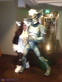 Gremlins Gizmo and Stripe - awesome DIY couples costume