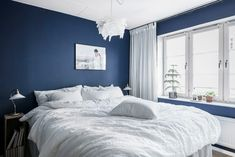 Attractive Slaapkamer Ideeen Donkerblauw that you must know, You're in good company if you're looking for Slaapkamer Ideeen Donkerblauw Blue Rooms, Blue Walls, New Room, Decoration, Master Bedroom, Sweet Dreams, Sweet Home, Good Company, New Homes