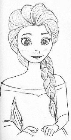 Elsa from Frozen, my tribute to the last wonderful Disney movie