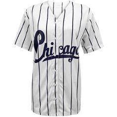 Envy Boutique Women's Chicago Stripes American Baseball Varsity Jersey... ($14)…