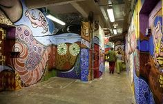 Ateliers les Frigos artist squat, Paris